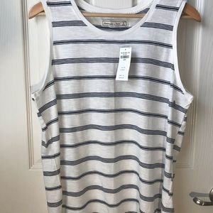 NWT Abercrombie and Fitch Striped Tank Top